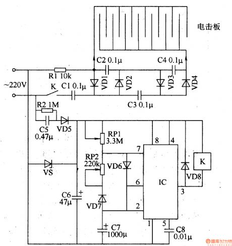 Can A Dc Regulator Reduce Step Down Dc Voltage further Kawasaki Zx9 R Charging System Circuit Diagram in addition 2010 06 01 archive likewise 2 16 3 BJTLab as well Led Display Digital Voltmeter. on high voltage amplifier circuit