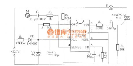 index 62 led and light circuit circuit diagram seekic comht7704 touching stepping dimming light circuit