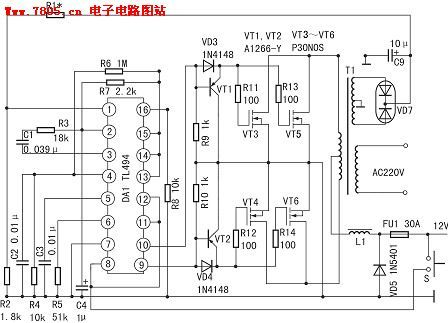 Line Following Robot also Stepper Motor Guide further Pure Sine Wave Inverter Circuit Diagram in addition How To Connect A LM741 Op   Chip To A Circuit furthermore Motorcontrols. on dc drive circuit diagram