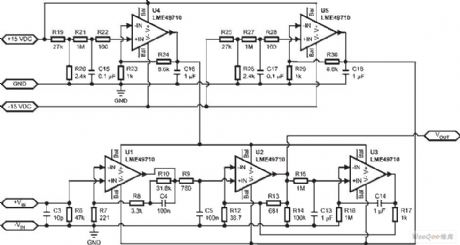 Active / Passive Phono Preamplifier Circuit
