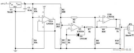 Simple and reliable temperature measurement circuit