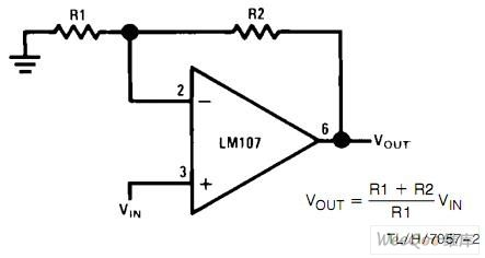 Non-inverting amplifier circuit