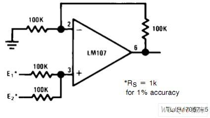 non-inverting summary amplifier circuit