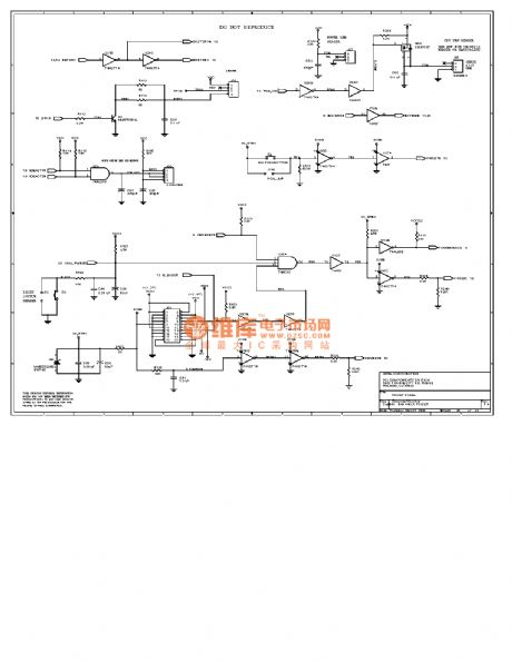 Computer motherboard circuit diagram 440LX2_26