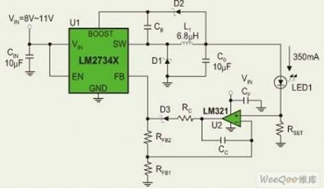 Index 28 - LED and Light Circuit - Circuit Diagram - SeekIC com