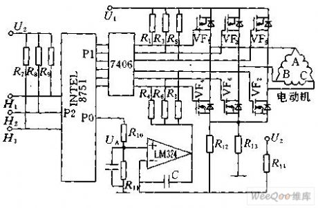 Index 183 amplifier circuit circuit diagram for Brushless motor driver ic