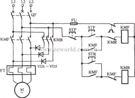 3 Phase Electric Motor Starter Wiring Diagram on wiring diagram for single phase motor with capacitor start