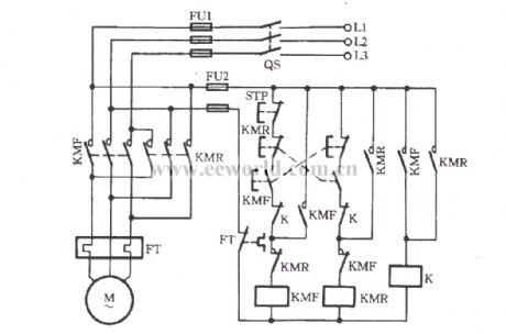 Forward reverse motor control motor control operation and circuits index 5 relay control control circuit circuit diagram circuit diagram reverse forward swarovskicordoba Choice Image