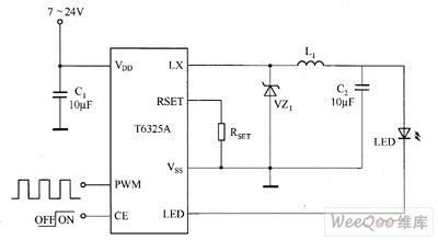 index 29 led and light circuit circuit diagram seekic comt6321a/t6325a white led driver circuit diagram