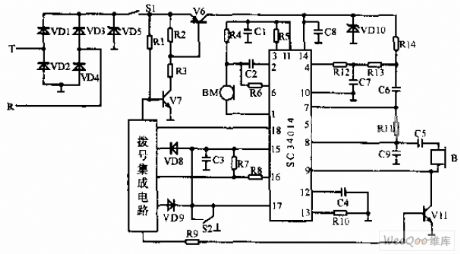 Bipolar Telephone Circuit Diagram