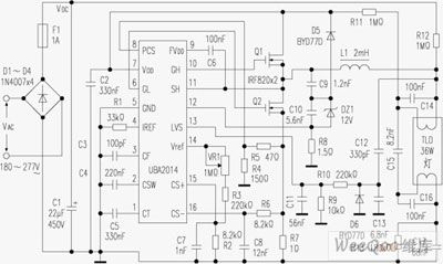 Fine Diagram Of Electronic Ballast Circuit Composed Of Uba2014 Wiring Database Wedabyuccorg