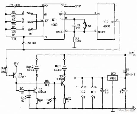 index 59 - power supply circuit - circuit diagram