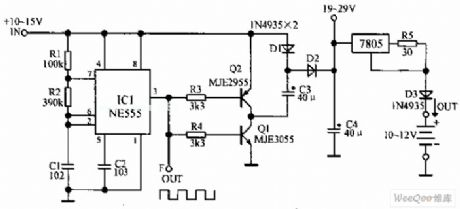 Index 4 Battery Charger Power Supply Circuit Circuit