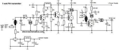 index 36 signal processing circuit diagram seekic com1w fm transmitter circuit