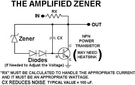 An Amplified Zener