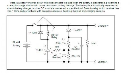 Battery Discharge Monitor
