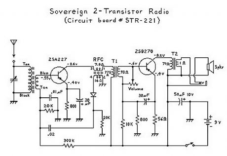 Two Transistor (Boy's Radio) Schematic and Theory of Operation
