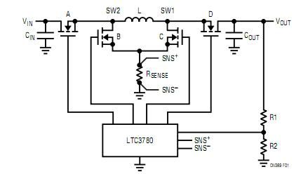 4-Switch Buck-Boost Converter