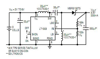 Micropower Buck/Boost Circuits