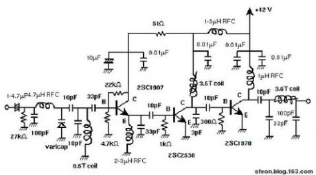 index 38 amplifier circuit circuit diagram seekic com3w fm transmitter amplifier