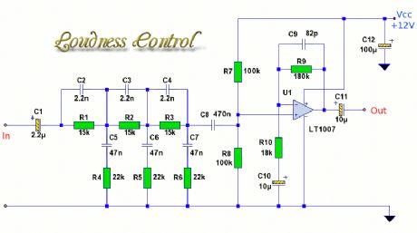 bass treble mid circuit diagram - wirdig, Circuit diagram