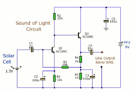 Sound of Light Circuit