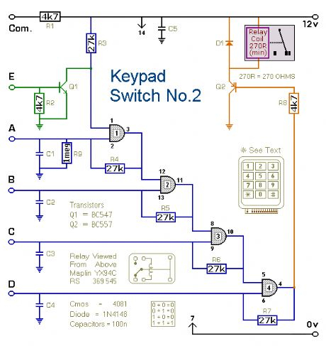Keypad Switch No. 2