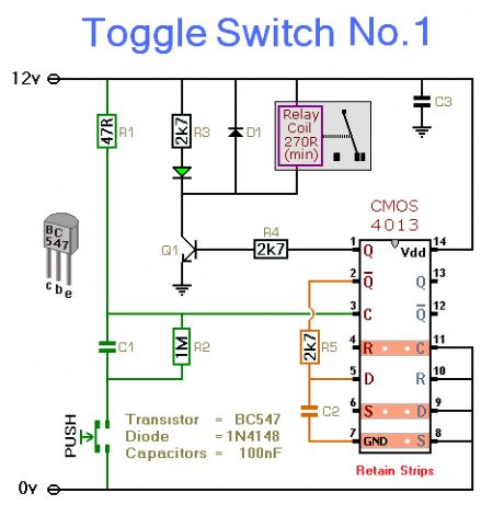 Toggle Switch No. 1