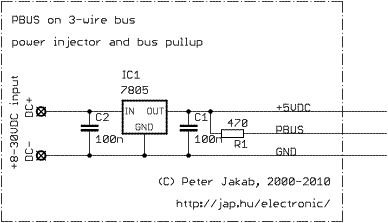 PBUS communication bus