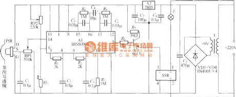 index 25 led and light circuit circuit diagram seekic compyroelectric infrared sensor automatic lamp circuit (3)