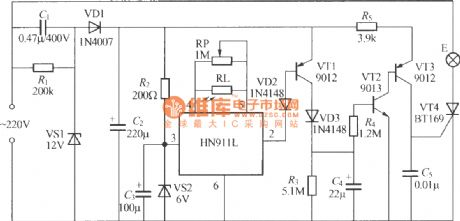 Thermal pyroelectric infrared sensing automatic light circuit (6)