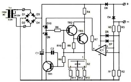 Index 3 Battery Charger Power Supply Circuit Circuit