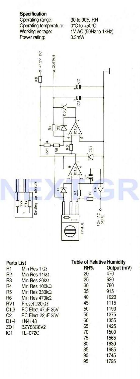 index 5 - sensor circuit - circuit diagram