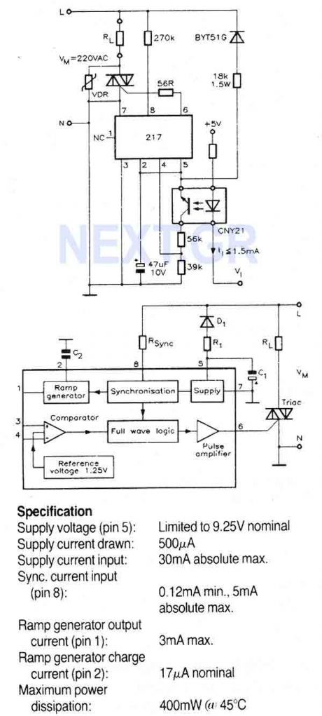 Temperature Controller with U217B