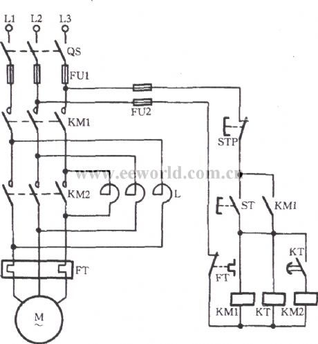 YStart DeltaRun 12Leads together with Relay logic additionally Wiring Diagram For A Start Stop Station additionally Ford Torino Wiring Diagram And Electrical System together with Dol Starter Wiring Diagram For 3 Phase. on wiring diagram star delta starter control