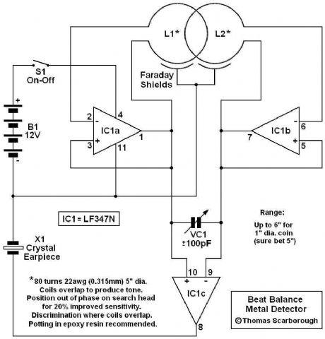 index 21 measuring and test circuit circuit diagram seekic combfo metal  detector using lf347n d50ddeed7a