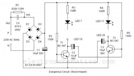 Low Cost LED Blinker circuit