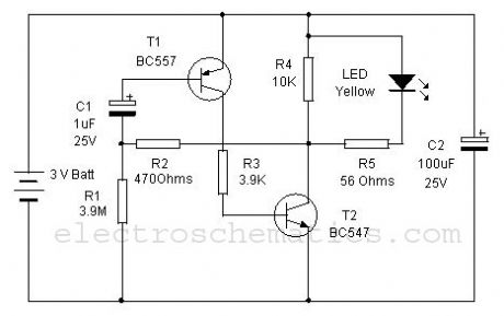 Keyhole Finder circuit