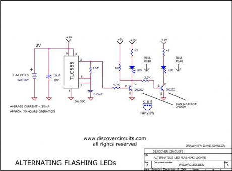 index circuit diagram com wig wag led flasher