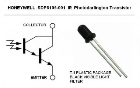 Honeywell SC8105-001 IR Photodarlington Transistor