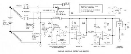 Engine Running Detector, Load Switch
