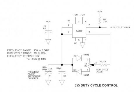555 Duty Cycle Control