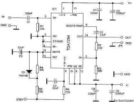 Index 5 - Amplifier Circuit - Circuit Diagram - SeekIC.com