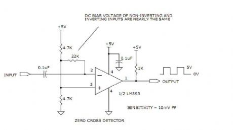 WIDE BAND ZERO CROSS DETECTORS