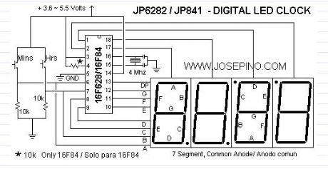 Terrific Digital Led Clock Circuit Diagram Digital Led Clock Circuit Diagram Wiring Cloud Hisonuggs Outletorg