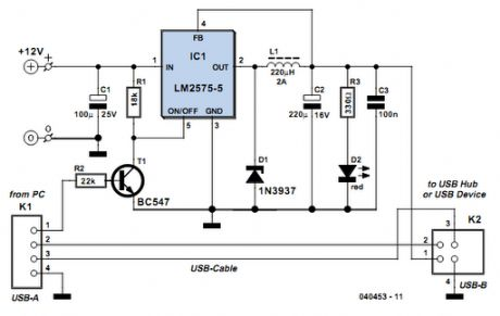 USB Power Booster Circuits