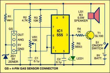 index 13 basic circuit circuit diagram seekic com rh seekic com methane gas detector circuit diagram gas leak detector circuit diagram