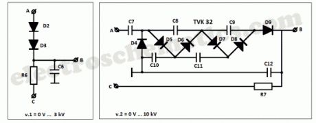 High Voltage Converter Circuits