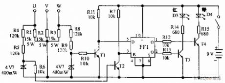 Phase Sequence Indicator Circuit Diagram | Index 55 Basic Circuit Circuit Diagram Seekic Com