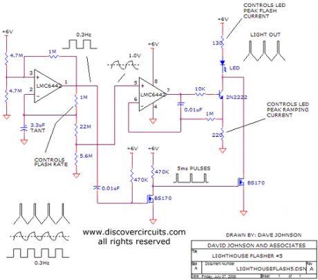 wig wag led flasher ledandlightcircuit circuit diagram seekic wire rh frana co